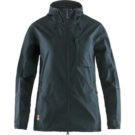 Fjällräven High Coast Wind Jacket Women navy
